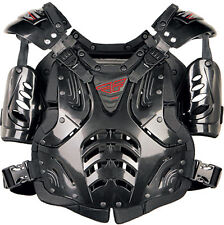 Motocross ATV Youth Protection ROOST GUARD Chest Protector Black Junior Size NEW