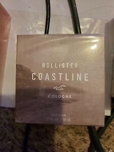 COASTLINE by HOLLISTER 1.7 oz 50 ml EAU DE COLOGNE SPRAY MEN NEW IN BOX SEALED