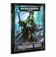 Codex Thousand Sons Hardcover Warhammer 40K NEW 8th Edition Book