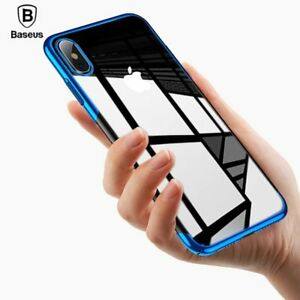 Clear Transparent Case Cover For iPhone Xs Max XR XSMAX Strong Fall Proof