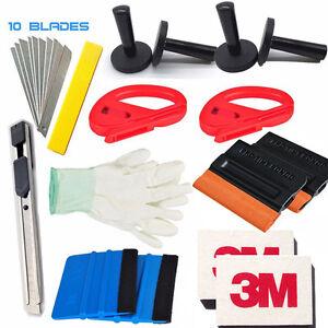Economy Combo Pro Tool kit Car Vinyl Wrap Squeegee Tools