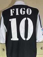 LUIS FIGO REAL MADRID 2001 ADIDAS PORTUGAL PLAYER FOOTBALL SHIRT VINTAGE JERSEY