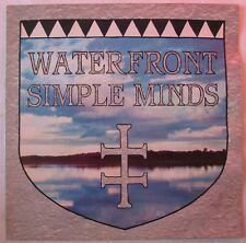 "SIMPLE MINDS (Maxi 45T 12"")  ON THE WATERFRONT"