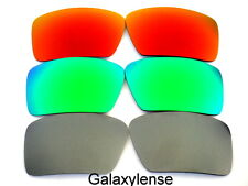 Galaxy Replacement Lenses For Oakley Big Taco Gray&Green&Red Polarized 3Pair