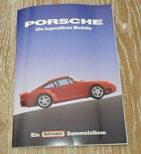 Matchbox Sammelalbum - PORSCHE Die legendären Modelle - komplett mit 18 Bildern