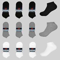 LOW CUT SOCKS CASUAL NO SHOW FOOTIE 6-PAIR SOCCER DESIGN MEN BOYS 10-13,9-11,6-8