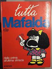 TUTTO MAFALDA CARTONATO DALLA PRIMA ALL'ULTIMA STRISCIA BOMPIANI 1978