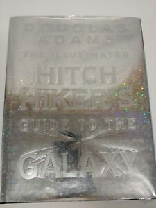 DOUGLAS ADAMS - THE ILLUSTRATED HITCH HIKER'S GUIDE TO THE GALAXY folio edition