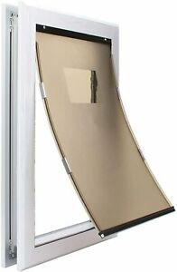 Heavy Duty Aluminum Frame Dog Door in Large and Extra Large Sizes