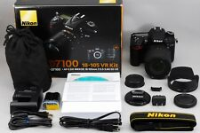 [TOP MINT] Nikon D7100 24.1MP Digital SLR w/AF-S DX VR 18-105mm from Japan M126