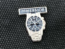 a PINS PIN BADGE MONTRE WATCH IMMERSION