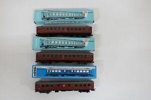 8351/640- Märklin H0 SJ Personenwagen 4072 4073 inkl OVP