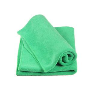 1/2Pcs Kitchen Cleaning Wash Cloth Multicolor Soft Microfiber Car Towel Cloth