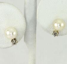 Pendientes de joyería de oro amarillo de 14 quilates diamante