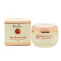 Belle Cosmetics Super Placenta Cream 50g (Placenta, Aloe Vera & Vitamin E)