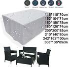 Waterproof Garden Furniture Covers Patio Rattan Table Chair Set Outdoor Cover Uk