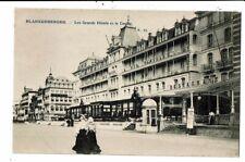 CPA-Carte Postale-Belgique-Blankenberge-Les Grands Hôtel et Le Casino VM8925