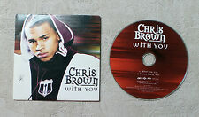 "CD AUDIO MUSIQUE INT / CHRIS BROWN ""WITH YOU"" 2008 CD SINGLE  2T  RnB/SWING"