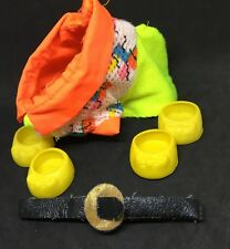 G1 My Little Pony Accessory- Neon Lights (Adult Pony Wear Clothing 1980s ID 52)