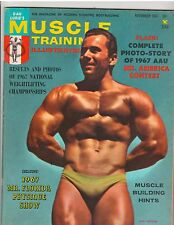 MUSCLE TRAINING bodybuilding fitness magazine/JOHN TRISTRAM 11-67