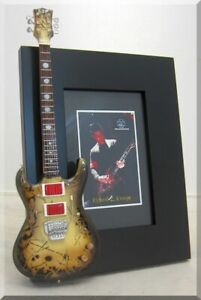 RICHARD Z. KRUSPE Miniature Guitar Picture Frame RAMMSTEIN