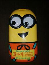 Despicable Me Minion 3-in-1 Body Wash, Banana, 14 fl oz