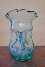 alte glasvase Vase Blumenvase Antikes Glas Waldglas Gluckerflasche Gluckervase