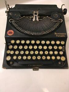 Antique/Vintage Remington Typewriter #2 Portable~Vintage 1926