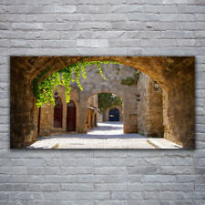 Wall art Print on Plexiglas® Acrylic 120x60 Tunnel Architecture