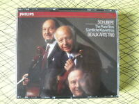 SCHUBERT THE PIANO TRIOS BEAUX ARTS TRIO PHILIPS 2 CD 412 620 -  2
