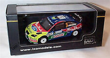 IXO Jordan Rally 2008 Winner Ford Focus RS WRC Hirvonen Car Model RAM326 1 43