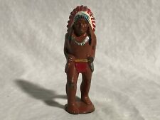 Barclay Manoil Native American North American Indian Lead Figure VERY NICE
