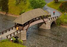 Faller Old Timber Bridge Kit 120494 HO Scale (suit OO also)
