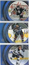 1998-99 SP Authentic 28-card  Snapshots insert Lot  Bourque  Lindros  Sakic