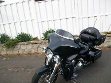 """USA Made 4"""" Black Harley Davidson Windshield for 1986-95  FLH TOURING DRESSER"""