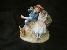 Collectible Norman Rockwell Gorham 1955 Spring Sweet Song So Young Figurine#Td