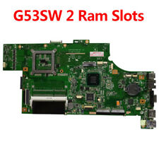 For ASUS G53SW G53S Laptop Motherboard 2 Ram Slots Mainboard Rev2.0  GTX 460M