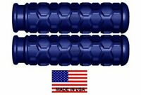 USA MADE BLUE HEX GRIPS SEADOO BOMBARDIER WATERCRAFT 3D GSX GTI GTX SP XP PWC