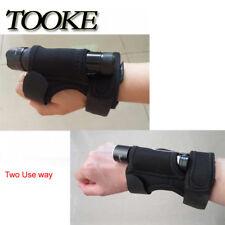 Hand Free handmount glove Flashlight Holder For Scuba Underwater Diving Torch