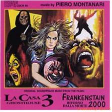 Piero Montanari-La casa 3 ghosthouse/Frankenstain 2000 ritorno dalla morte-NEWCD