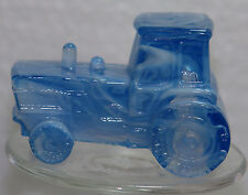 Boyd Glass Tractor Bluebell Slag
