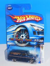 Hot Wheels 2006 First Editions #37 '55 Chevy Panel Blue w/ PR5s Unpainted Grille