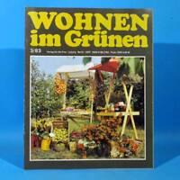 DDR Wohnen im Grünen 3/1983 Verlag für die Frau K Halle Einkochen Schafzucht
