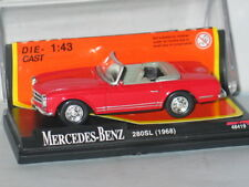 NEW RAY OPENTOP MERCEDES BENZ 280SL CABRIOLET ROUGE NEUF BOITE