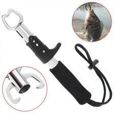 Portable Fish Lip Grabber Gripper Grip Holder Tool Stainless Steel Fishing Gear