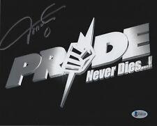 Oleg Taktarov Signed UFC 8x10 Photo BAS Beckett COA Pride FC 1 Picture Autograph