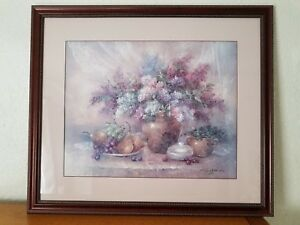 Lena Liu Lilac Breezes Framed Numbered Signed Limited Edition Print