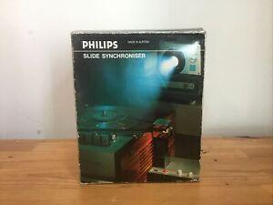 Vintage Philips Slide Synchroniser BOXED NEW NoS