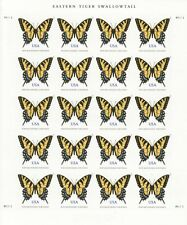 EASTERN TIGER SWALLOWTAIL BUTTERFLY STAMP SHEET -- USA #4999 71 CENT 2015