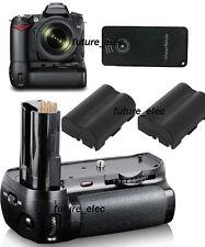 Battery Hand Handle Grip Holder For Nikon D80 D90 as MB-D80+ IR Remote+2 EN-EL3e